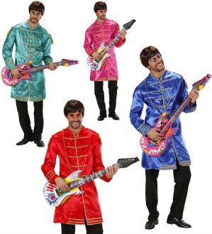 Beatles Pop Sergeant costume - plus size